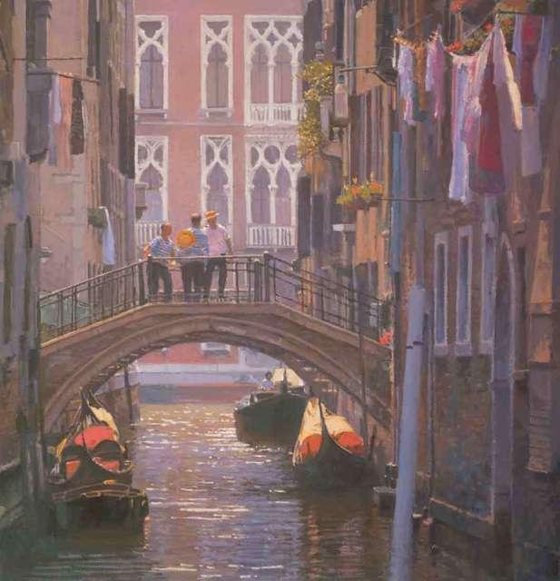 , 'Venice Bridge,' 2018, Catto Gallery