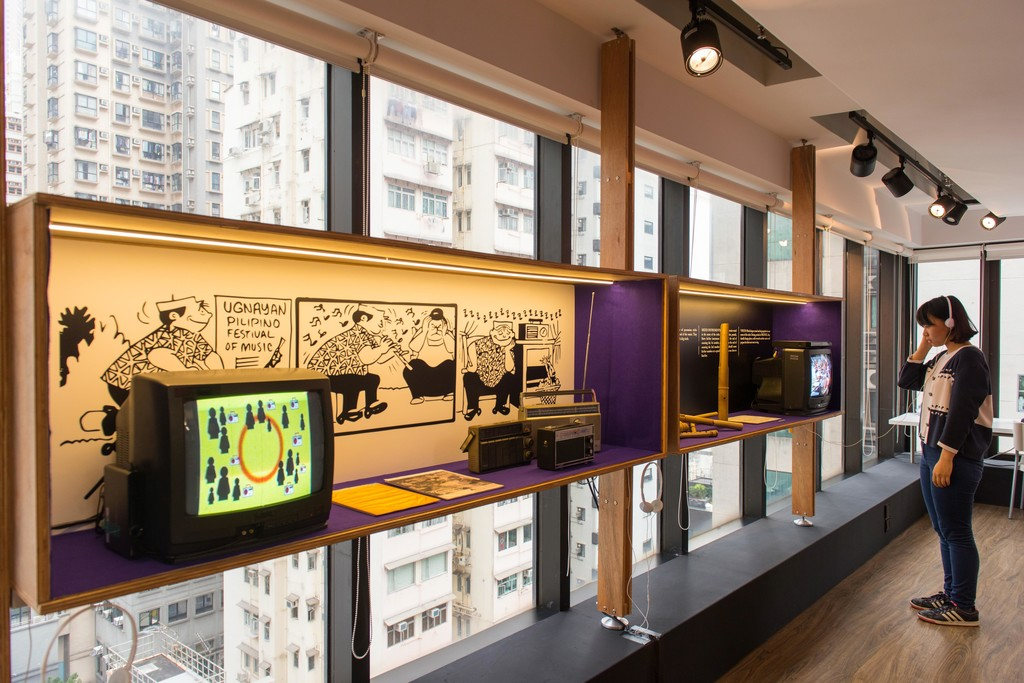 Installation view of Udlot-udlot exhibition at Asia Art Archive, Hong Kong, 14 December 2015 – 23 January 2016. Photo by Kitmin Lee. Courtesy of Asia Art Archive.
