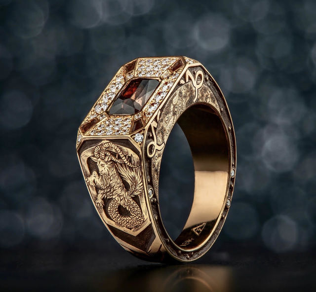 Buddy Austin, 'Rose Gold Ring', 2018, Jewelry, Gemstones and Rose Gold, The Crown Collection
