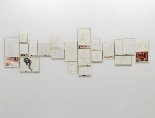 , 'Income's Outcome,' 2013, Galerie Michael Sturm