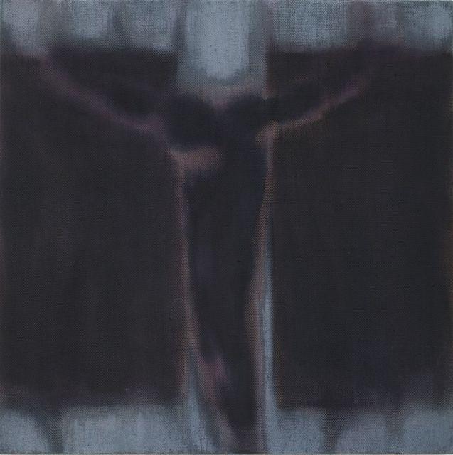 , 'Crucifix Study IV (black, grey),' 2018, Bernhard Knaus Fine Art