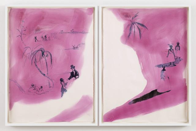 Kara Walker, 'Dreams herself into being', 2014, Sikkema Jenkins & Co.