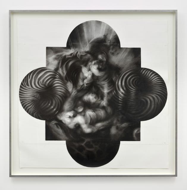 , 'Untitled (Quatrefoil),' 2015, Parafin