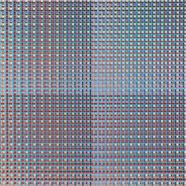 , 'Gradual Grid Grower,' 2019, McKenzie Fine Art