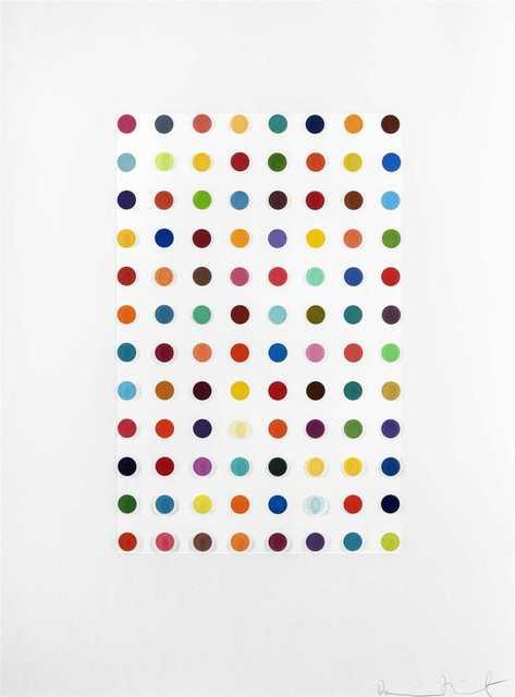 Damien Hirst, 'XYLENE CYANOL DYE SOLUTION', 2005, Tate Ward Auctions