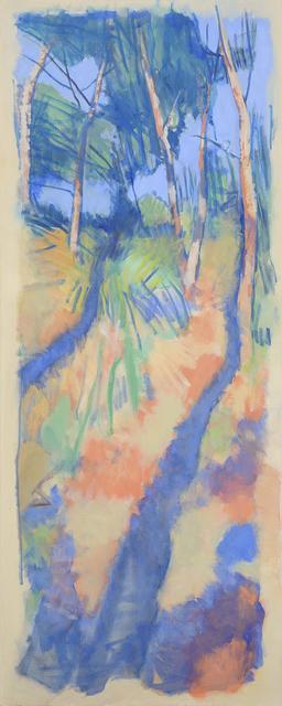 , 'Riverbank Shadow Lines 1,' 2016, Charles Nodrum Gallery