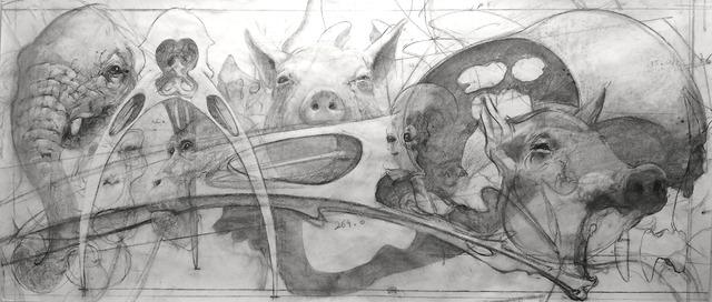 , 'Palimpsest,' 2018, Mazel Galerie
