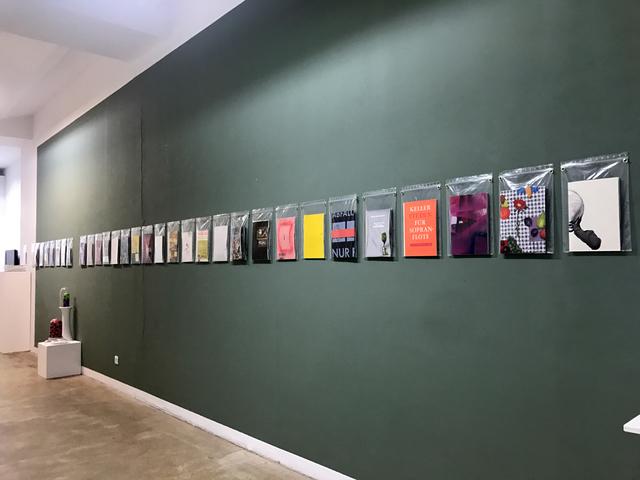 Nino Stelzl, '40 booklets', 2018, Charim Galerie