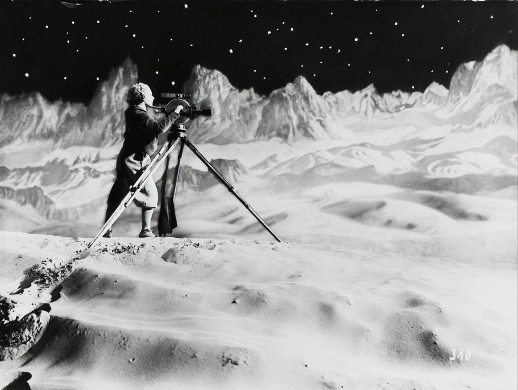 Fritz Lang: Frau im Mond, 1929. Photo: Horst von Harbou / Deutsche Kinemathek.