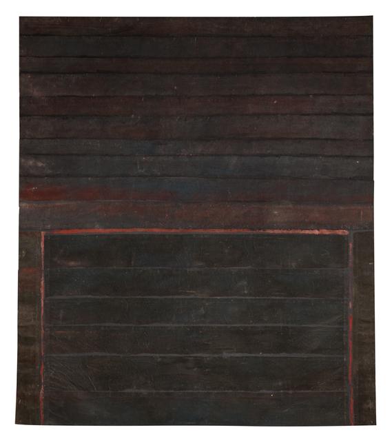 ", '""Palissade"",' 1973, Galerie Dutko"