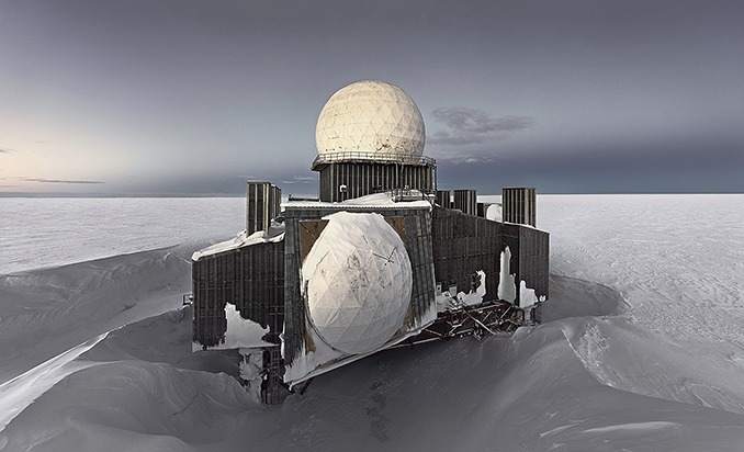 Dye2#1, Abandoned Missile Detection Station, Greenland Icesheet