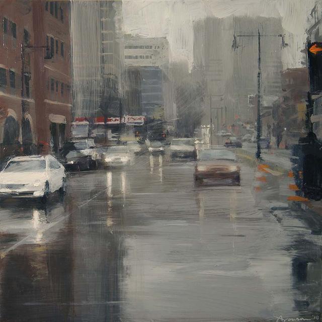 , 'Boston Rain,' 2018, Alpha Gallery