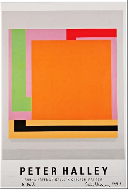 , 'Peter Halley (From the collection of artist Bill Radawec),' 1991, Alpha 137 Gallery