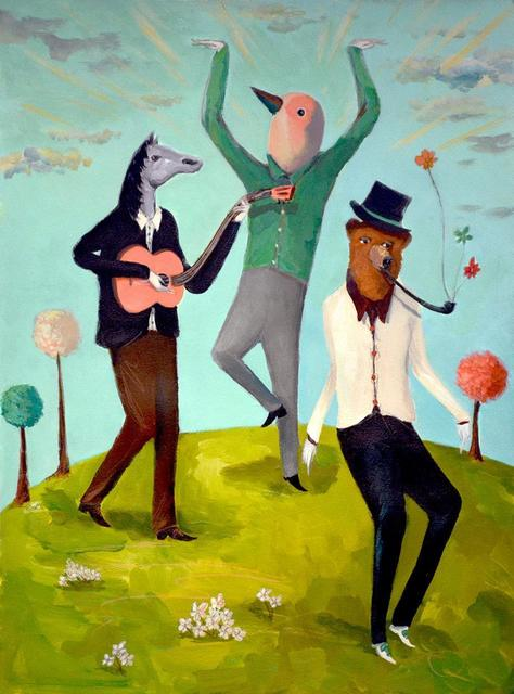 Mike Stilkey, 'In The Midst Of Absurdity', 2018, bG Gallery