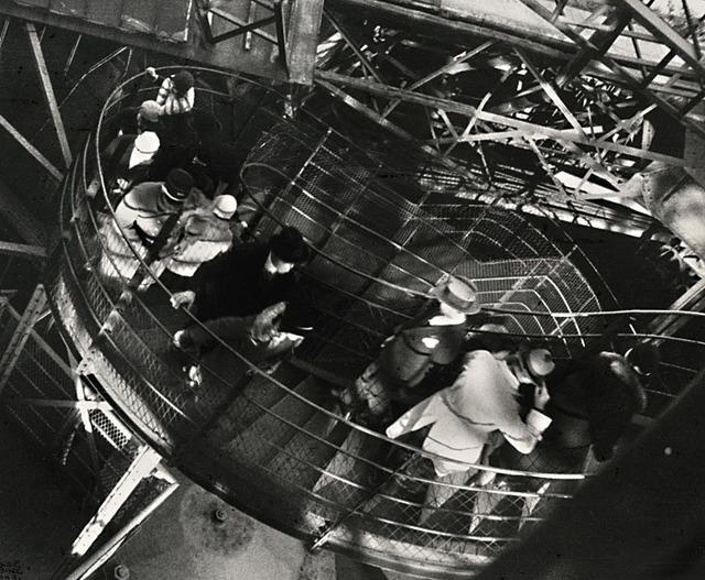 Ilse Bing, 'Le coup de vent, Tour Eiffel', 1931/1950c, Contemporary Works/Vintage Works