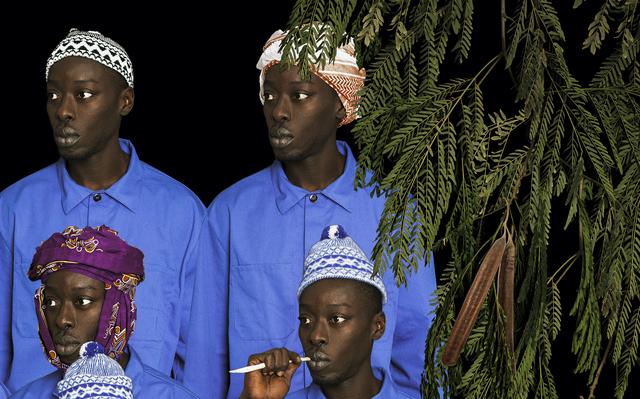 Omar Victor Diop, 'Les Cheminots du Dakar - Niger, 1938 et 1947', 2016, Photography, Inkjet print on Hahnamühle paper, Magnin-A