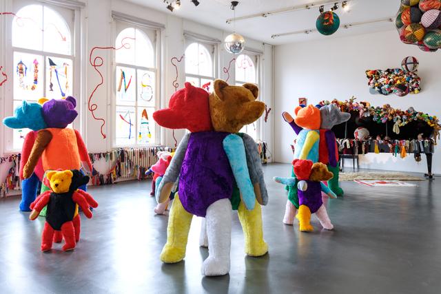 , 'Installation view GesammttkkunnsttMeshuggahhLaandtttt,' 2016, Witte de With Center for Contemporary Art