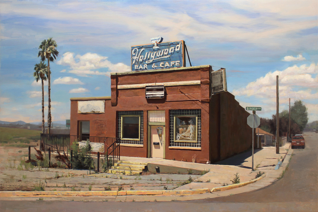 , 'Hollywood Bar and Cafe,' 2015, Sue Greenwood Fine Art