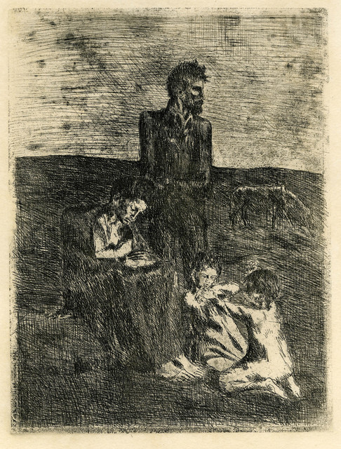 Pablo Picasso, 'Les Pauvres (The Poor)', 1905, Thomas French Fine Art