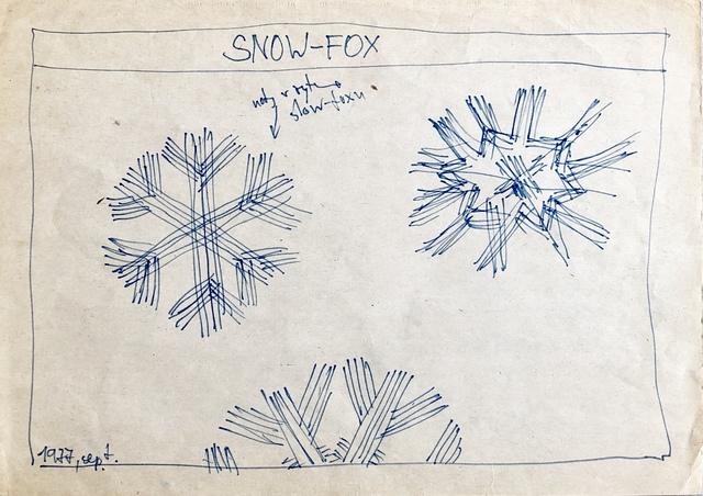 Milan Adamčiak, 'Snow Fox', 1977, SODA gallery
