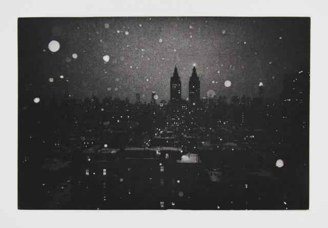 , 'Snowstorm,' 2016, Manneken Press