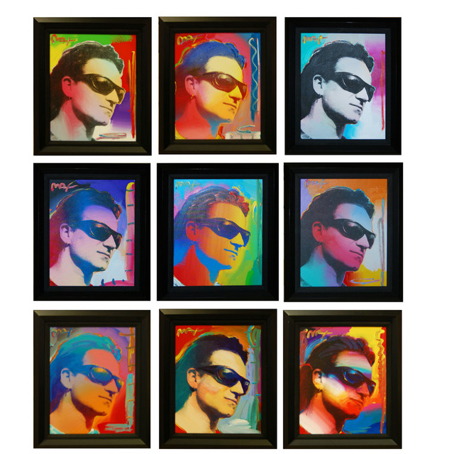 , 'Bono (Set of 9),' 2003, Baterbys Art Gallery