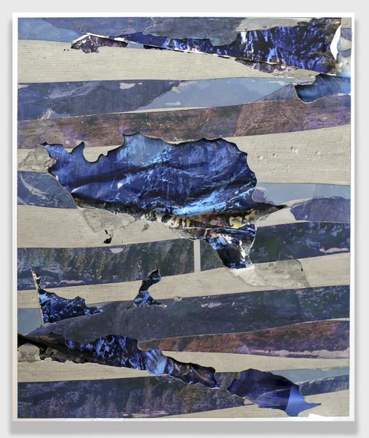 , 'Yosemite Blue Lines Concrete Bend,' 2015, GRIMM