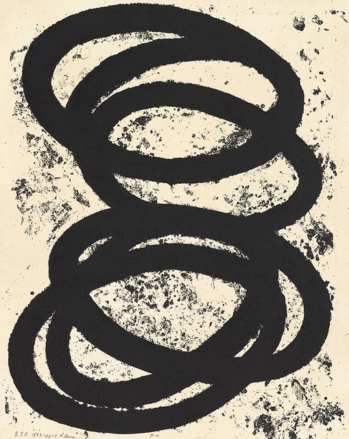, 'Finally Finished I,' 2017, Gemini G.E.L. at Joni Moisant Weyl