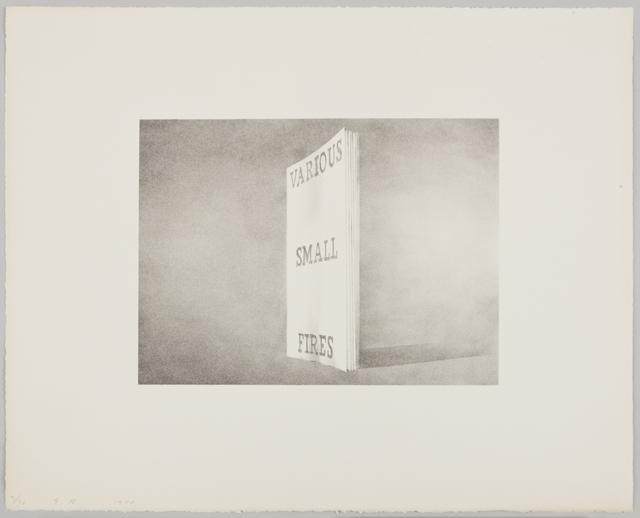 , 'Various Small Fires,' 1970, Gagosian