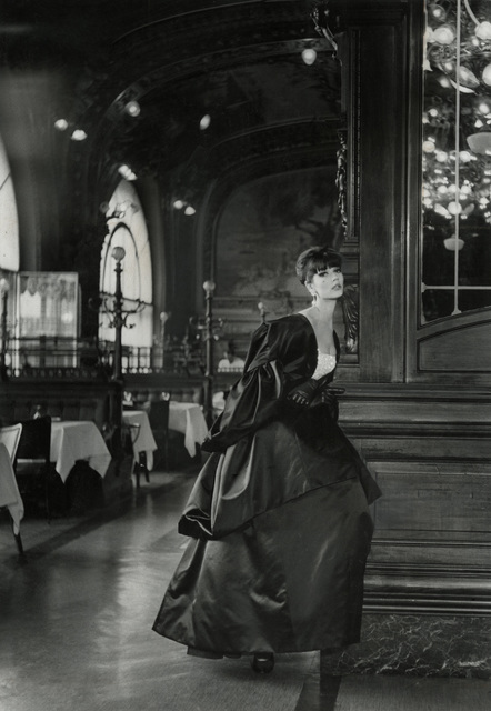 , 'Model wearing Jules Francois Crahay for Nina Ricci,' , CAMERA WORK