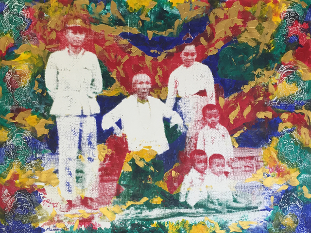 , 'Nation Leader's Family,' 2017, Connecting Myanmar