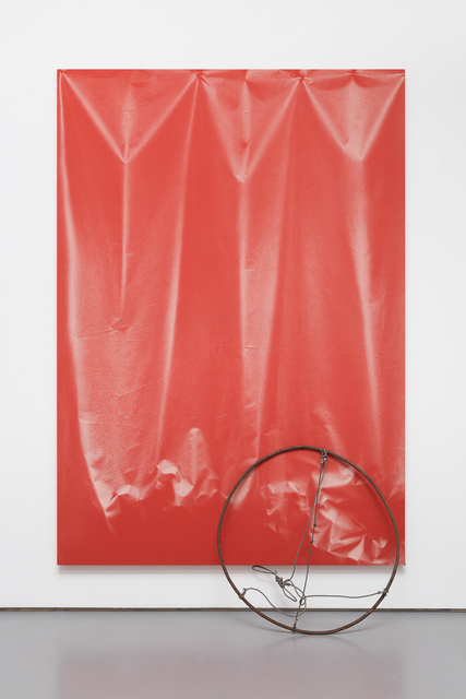 , 'Folds and Circle,' 2015, Pilar Corrias Gallery