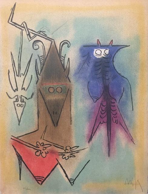 ", 'Démons Familiers - from the suite ""Pleni Luna"",' 1974, Wallector"