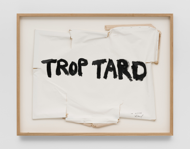 Thierry Geoffroy /COLONEL, 'TROP TARD, 14th July, 2016', 2016, SABSAY