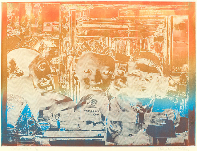 Romare Bearden, 'Memories', 1974, Alan Avery Art Company