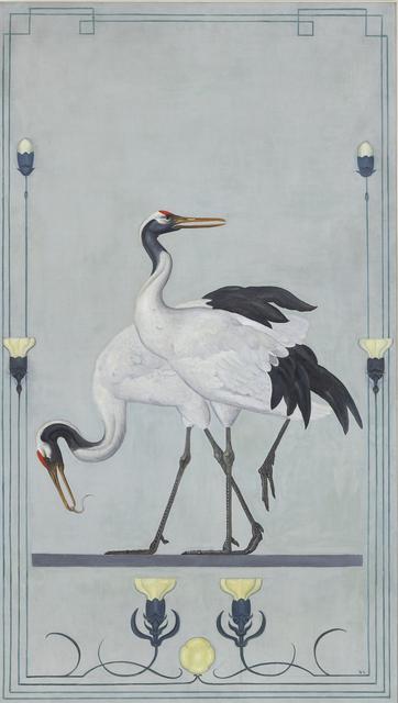 , 'Manchurian Cranes,' ca. 1899, Mireille Mosler Ltd.