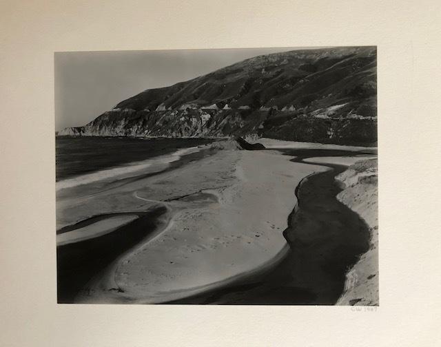 Cole Weston, 'Little Sur River', 1947, Susan Spiritus Gallery