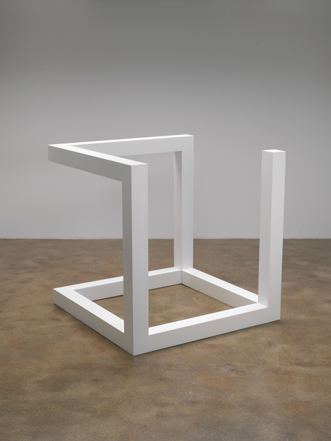 , 'Incomplete Open Cube 9/2,' 1974, Pace Gallery