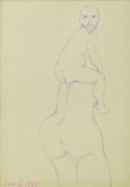 , 'Dream II (Sen II),' 1950, Dawid Radziszewski