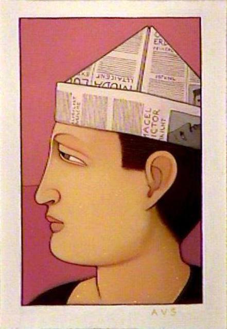 Andrew Stevovich, 'Portrait: Victor', 1991, Adelson Galleries