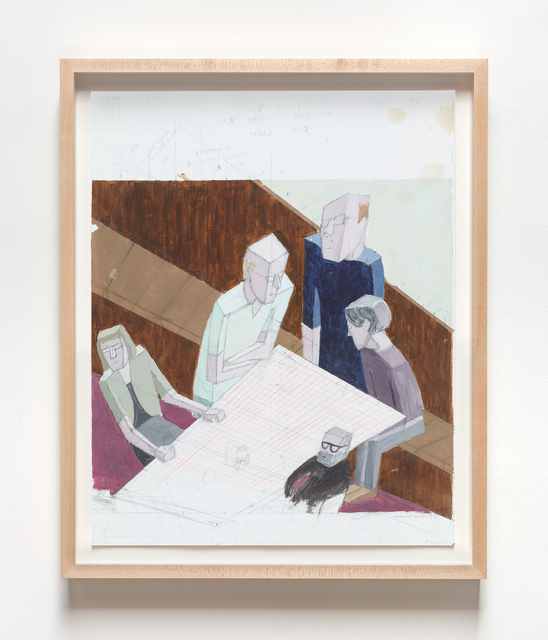 , 'Reunion (Study),' 2014, VARIOUS SMALL FIRES
