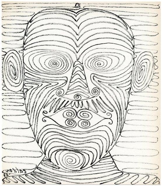 Alexander Calder, 'Untitled (Head)', 1947, Artsnap