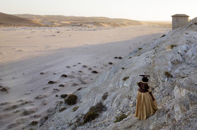 , 'Across the River. Uakondjisa Kakuekuee Mbari, Swakopmund, Namib Desert.,' 2013, Guns and Rain