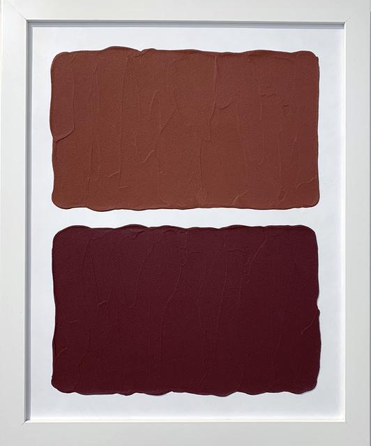 Laura Hapka, 'Byzantine Hotcakes', 2020, Mixed Media, Acrylic on mat board, Themes+Projects