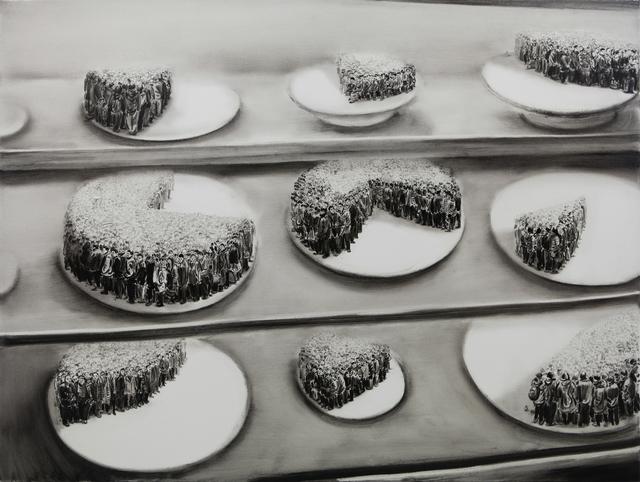 , 'cake shop,' 2015, rosenfeld porcini