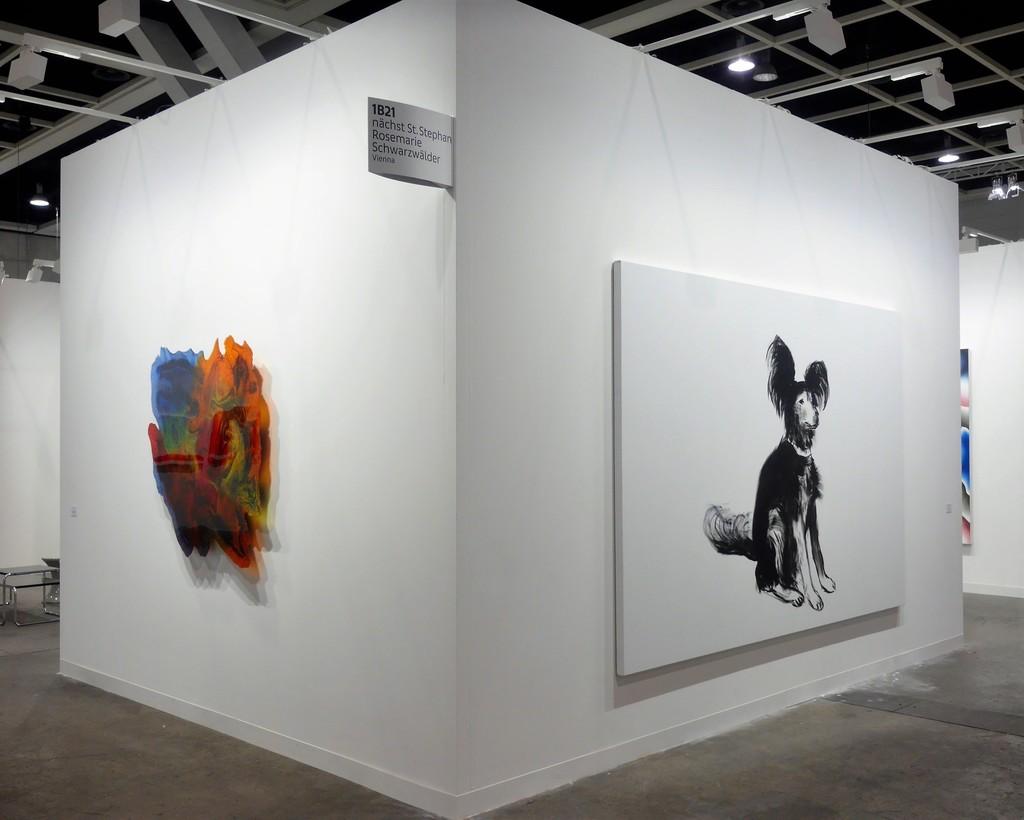Courtesy Galerie nächst Stephan Rosemarie Schwarzwälder Photo: Samuel Mizrachi