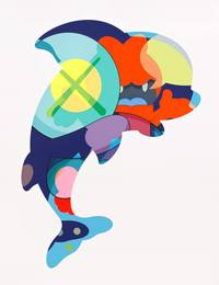 KAWS, 'Piranhas When You're Sleeping,' 2016, Friends Seminary: Benefit Auction 2017