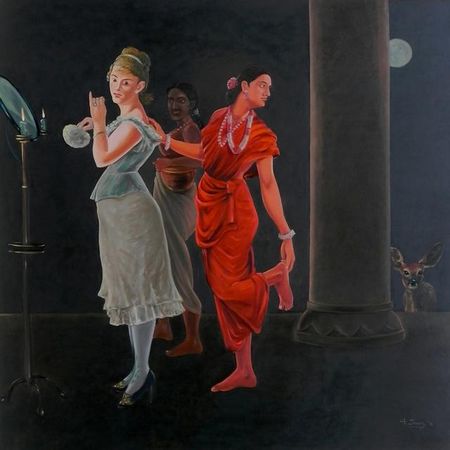 , 'Confluence- 2,' 2018, Arushi Arts
