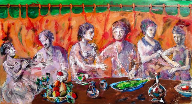 , 'La cena mistica,' 2010, DIE GALERIE