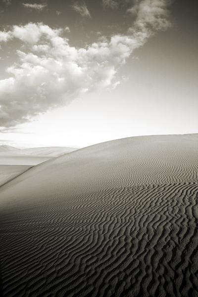 , 'Dune and Clouds, Death Valley,' , Weston Gallery